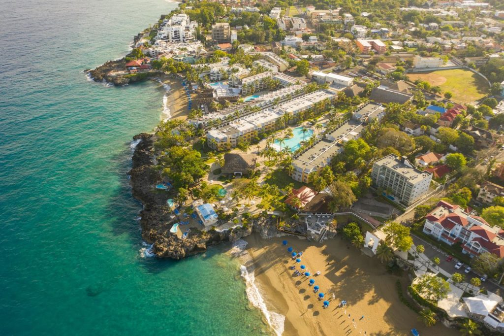 Общий вид отеля Casa Marina Beach & Reef All Inclusive