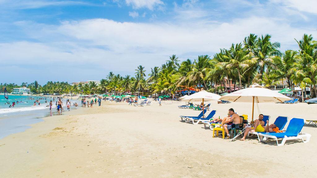 Отдых на пляже Кабарете