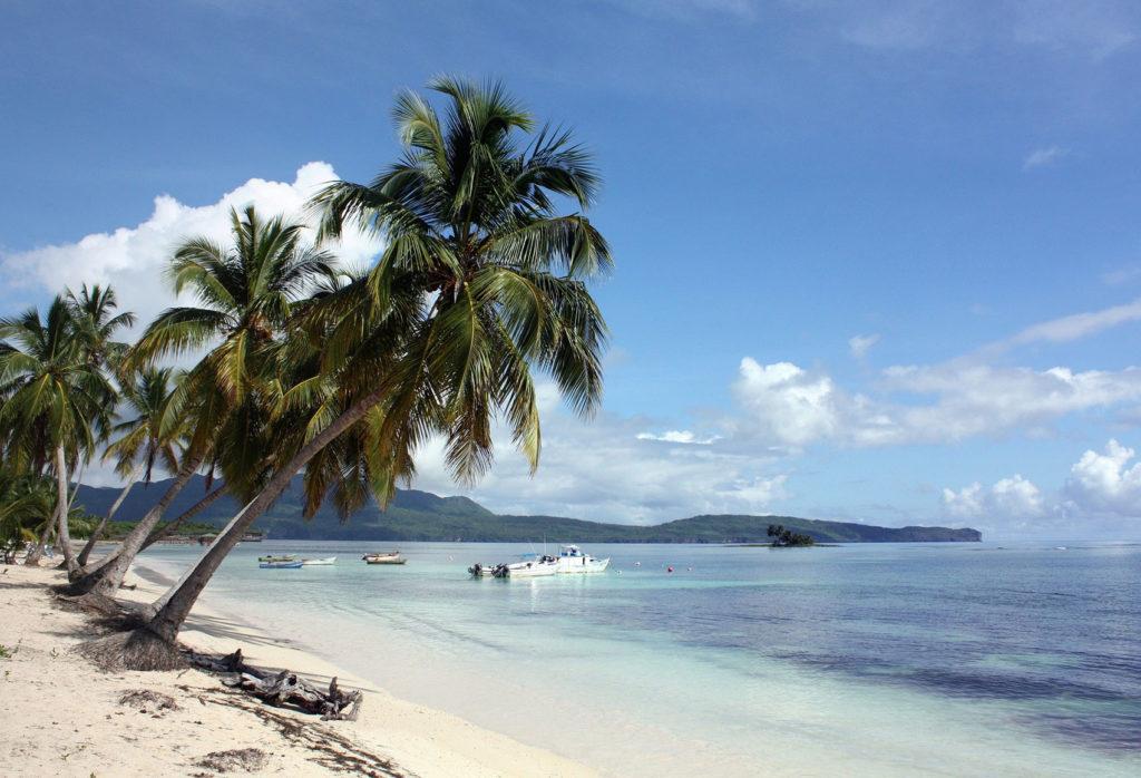 Пляж Саманы пальмы