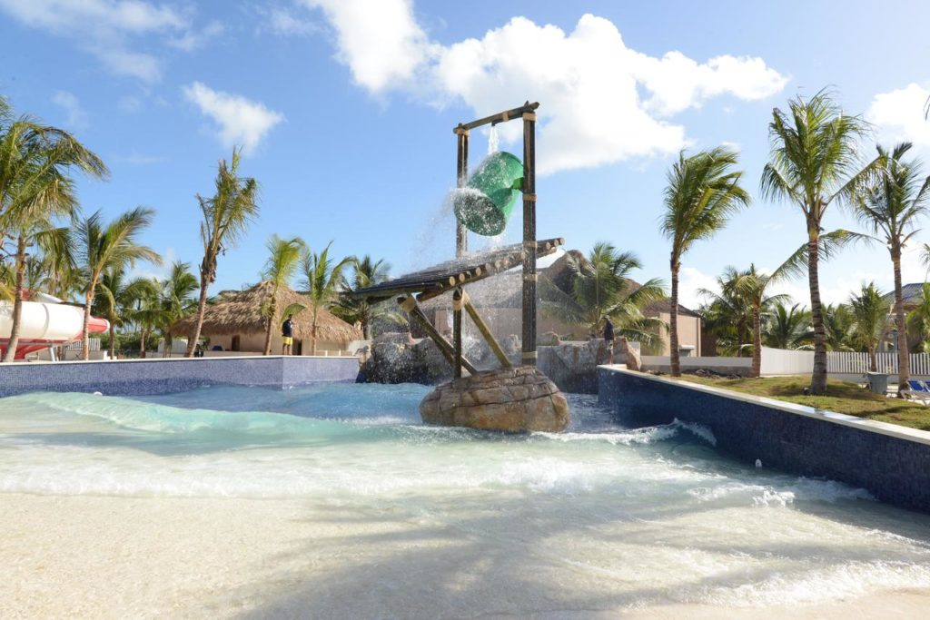 Детский аквапарк в отеле Доминиканы