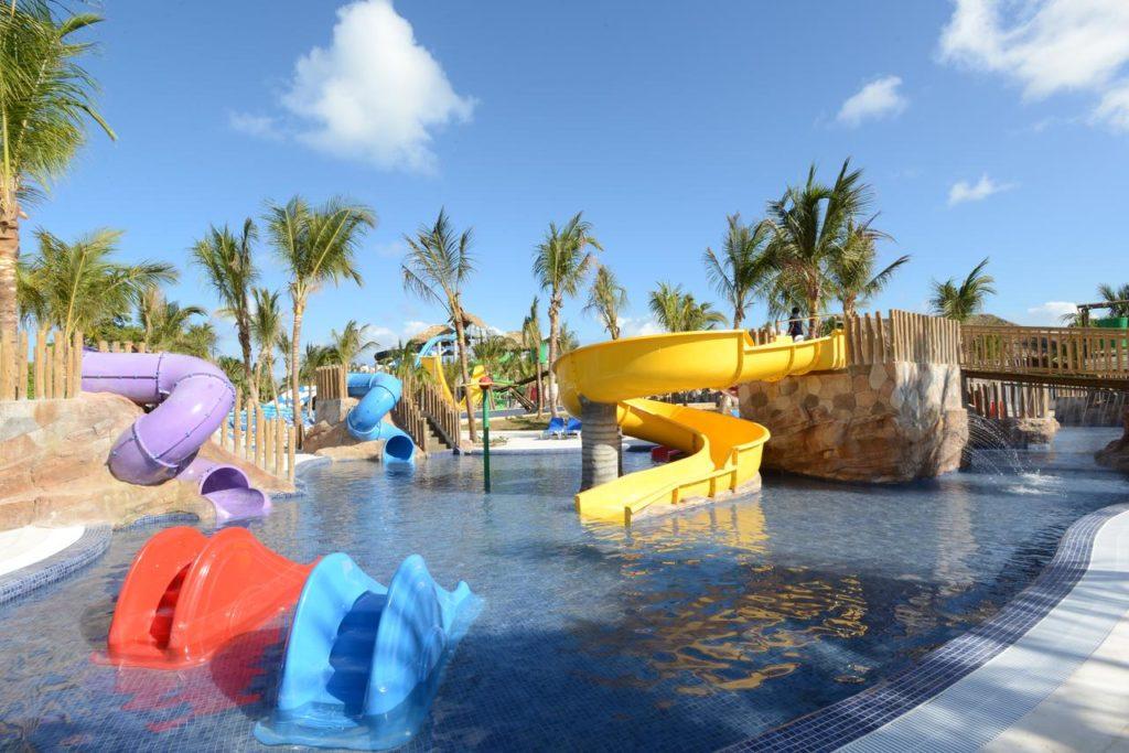Аквапарк при отеле в Доминиканской Республике