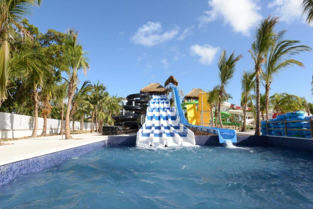 Аквапарк в отеле Доминиканы