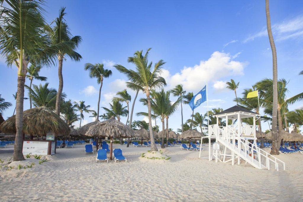 Пляж в отеле Bahia Principe