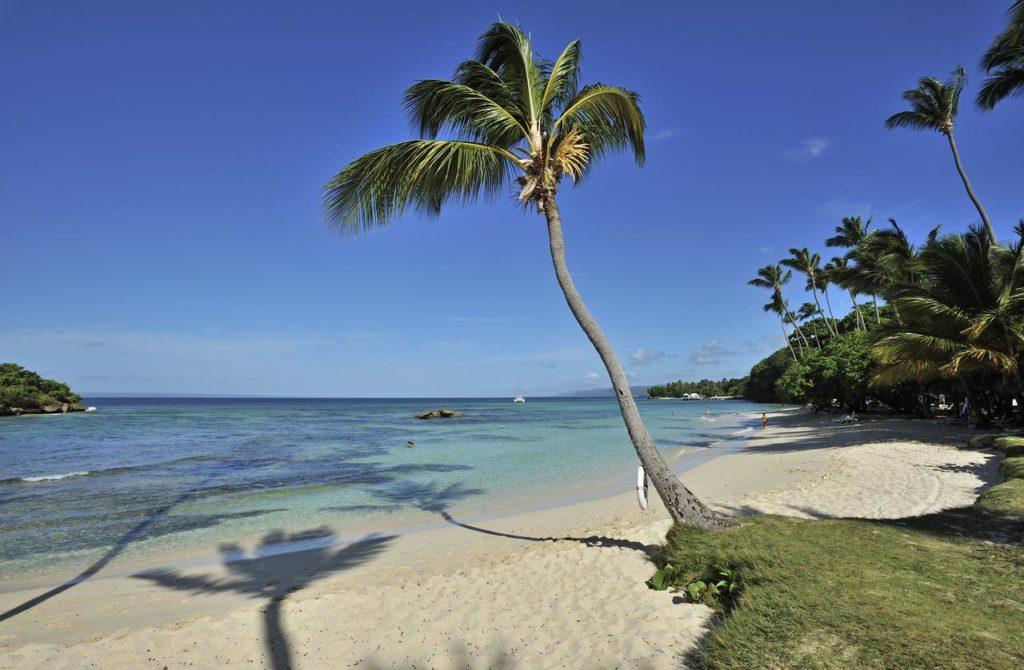 Пляж на острове Кайо-Левантадо