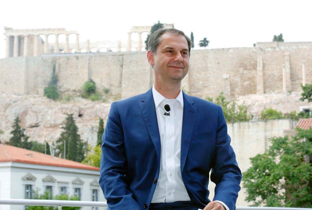 Министр туризма Греции Харис Теохарис