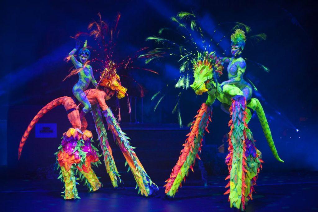 Шоу программа отеля Grand Oasis Cancun