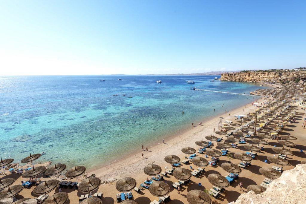 Шарм-эш-Шейх Египет пляж