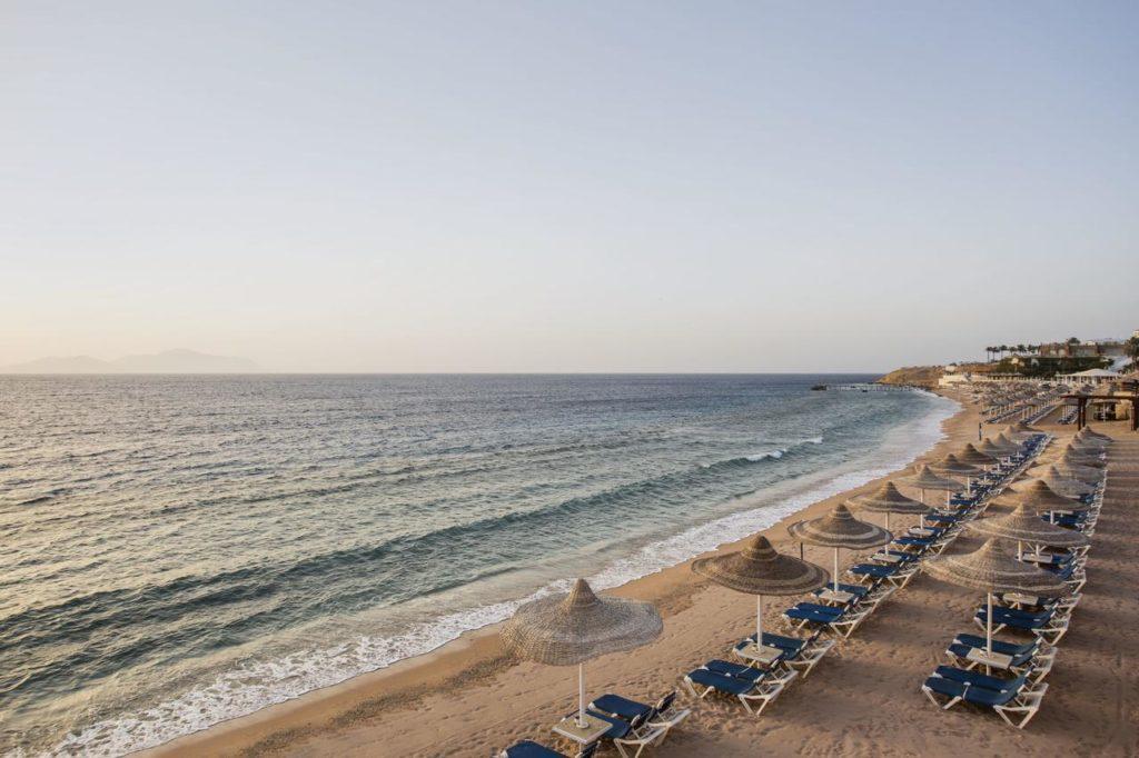 Песчаный пляж Шарм-эль-Шейх