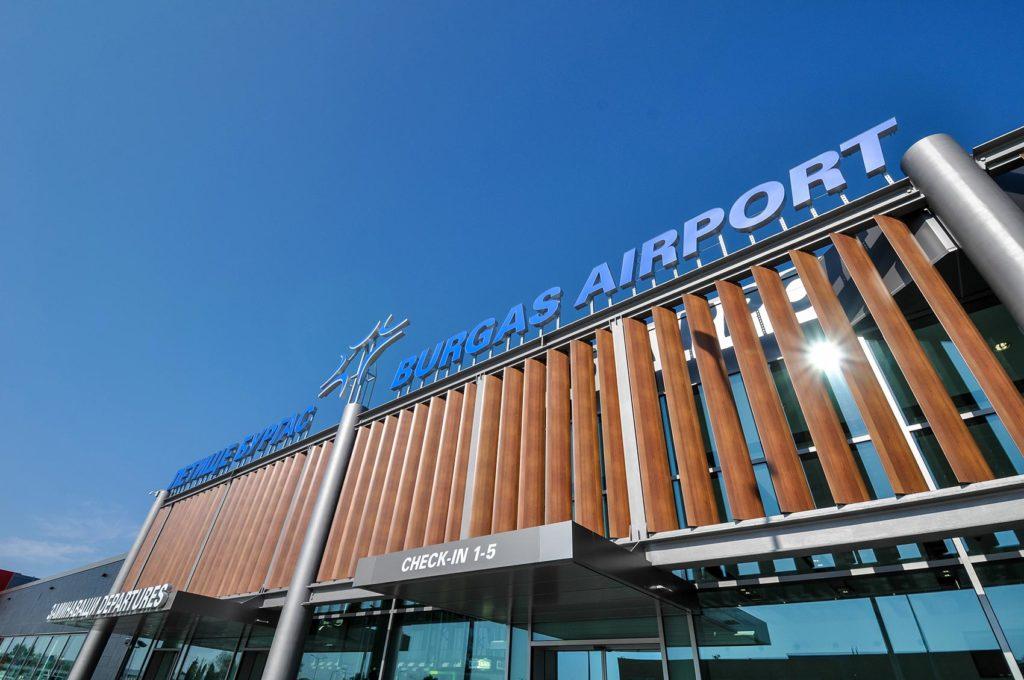 Аэропорта Бургаса Болгария