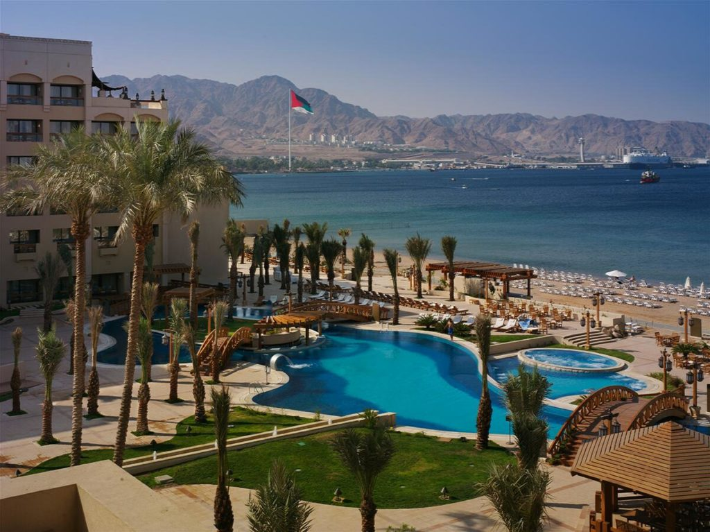 Intercontinental Aqaba на Красном море