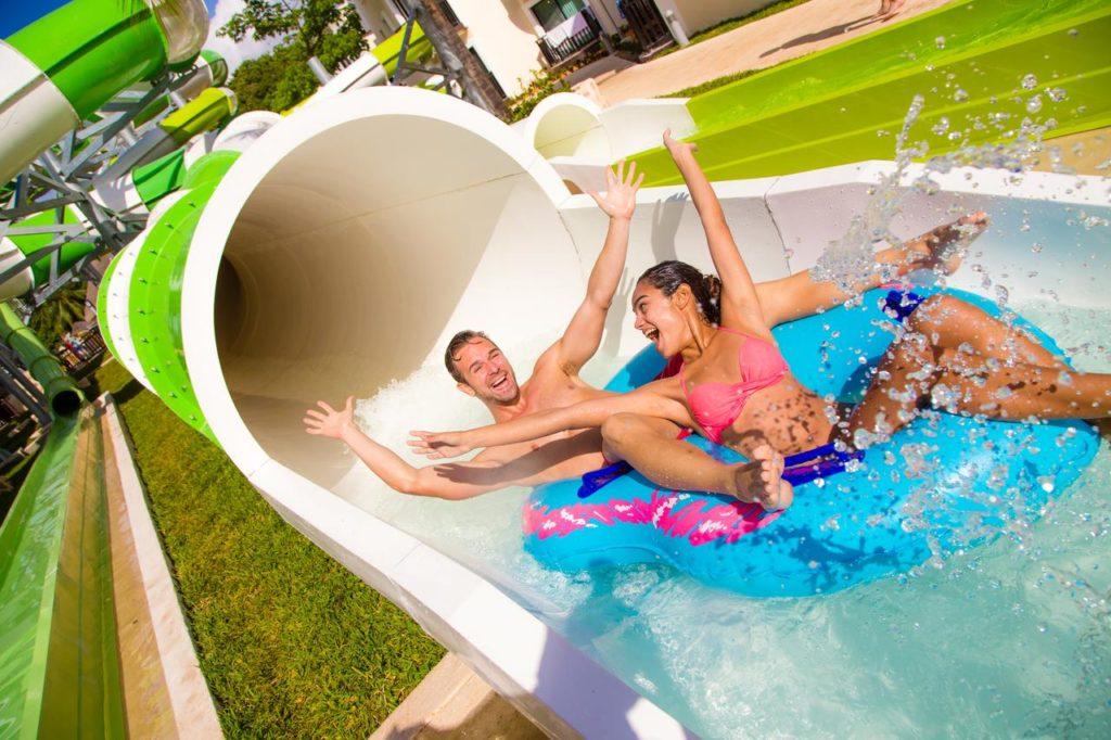 Sandos Caracol Eco Resort отель с аквапарком