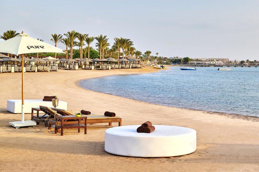 Пляж Хургада отель 5*