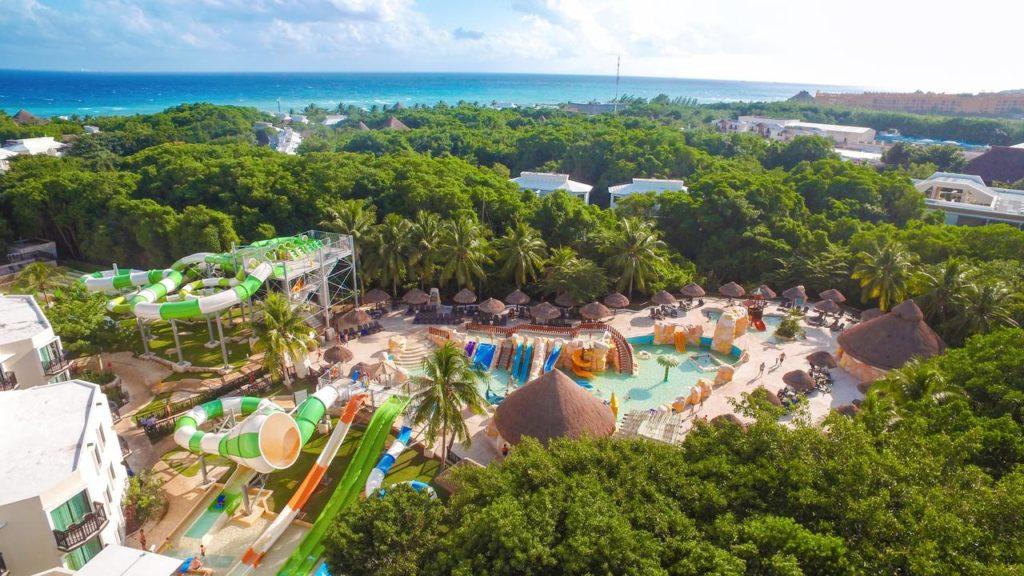 Sandos Caracol Eco Resort аквапарк