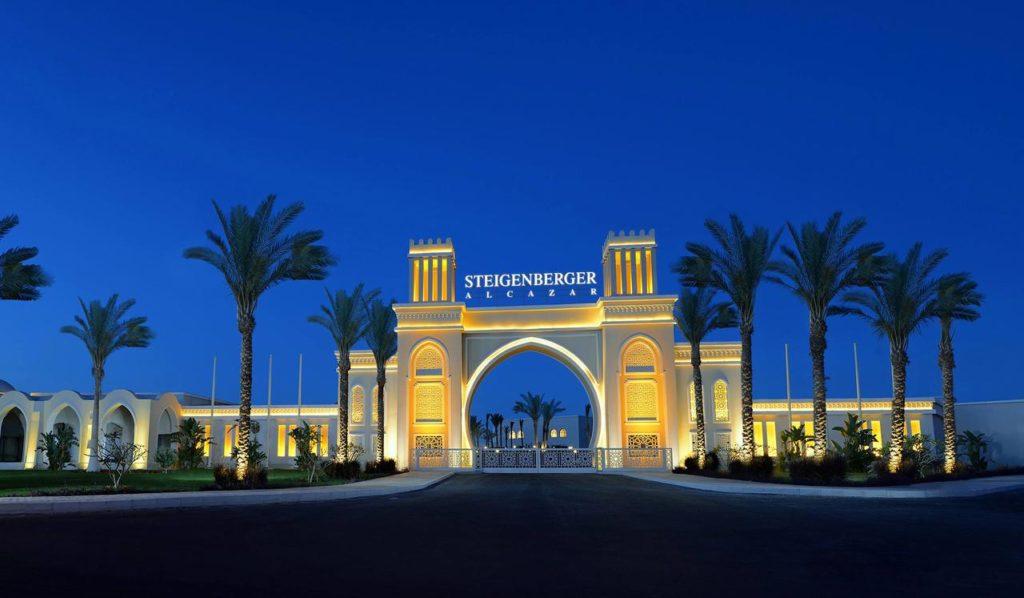 Сетивой отель в Египте