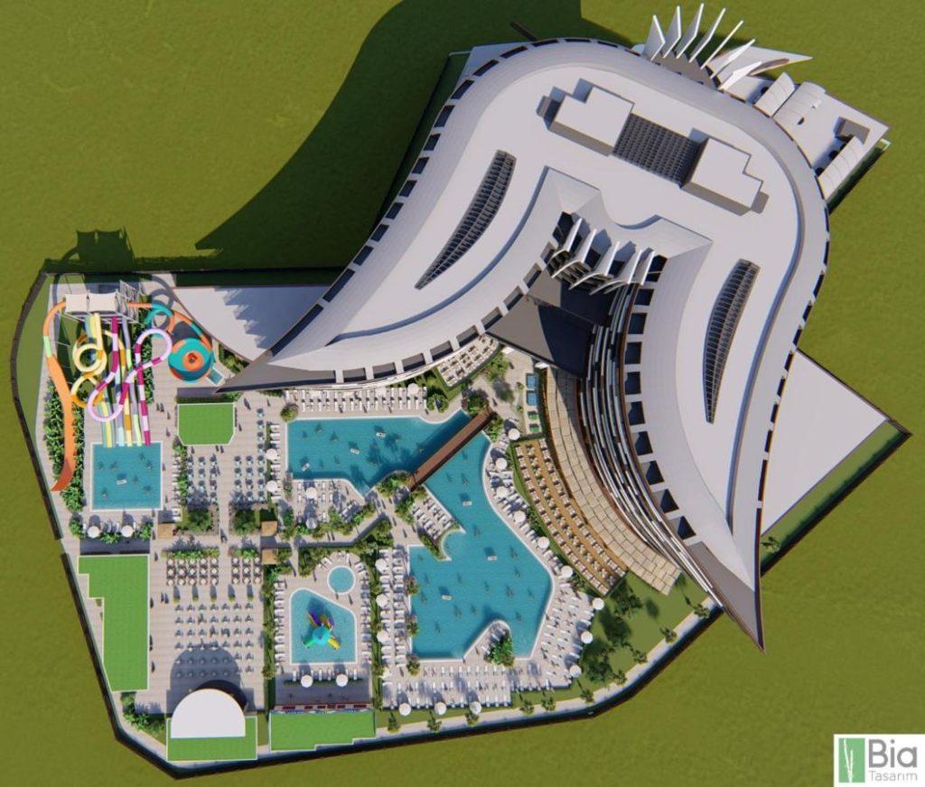Новый отель Kirman Calyptus 5 звезд