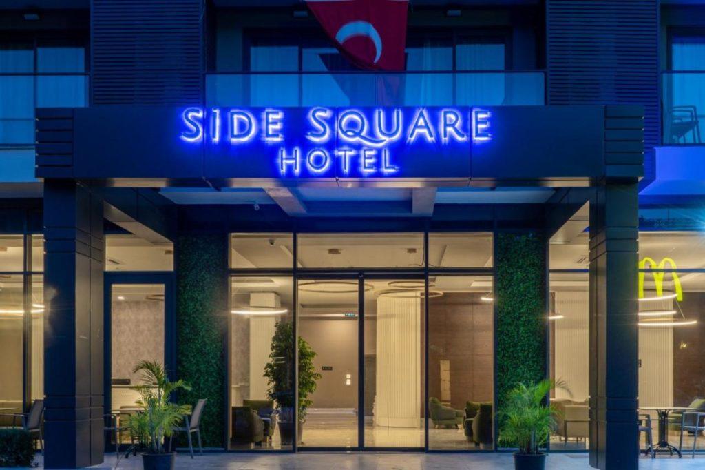 Новый отель Side Square Hotel 4 звезды